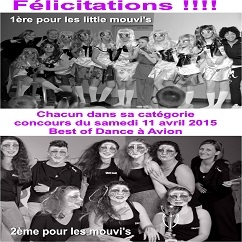 concours best of dance du 11 avril 2015 a avion